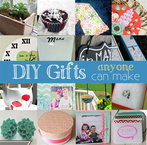 Diy Handmade Gifts - handmade gift ideas anyone can make