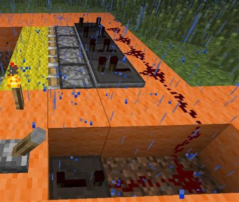 Minecraft Secret Trap Door by How To Create Secret Staircases With Lever Actuated