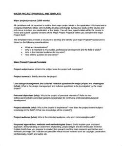 project proposals templates sle project template 9 free documents in