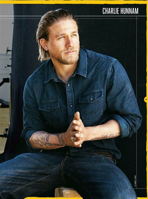 charlie hunnam tattoo 166 best hunnam images on