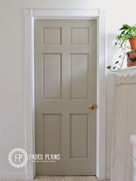 painting doors and trim different colors 17 best ideas about painted interior doors on pinterest