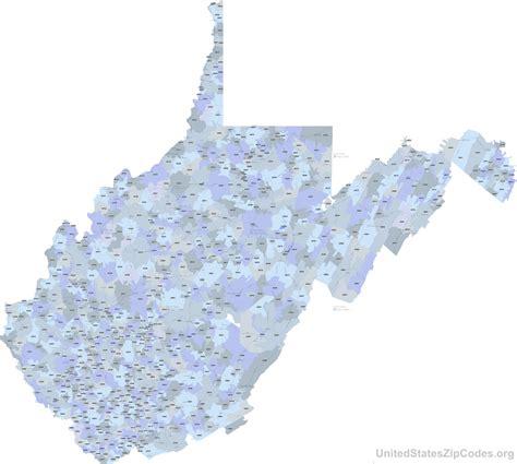 zip code map west virginia northern virginia zip code map virginia map