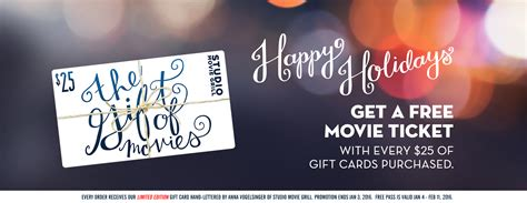 Studio Movie Grill Gift Card Balance - smg eat drink movies