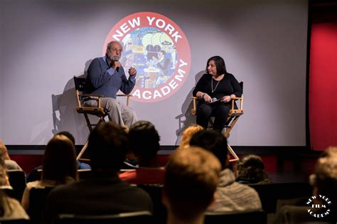 new york film academy guest speakers tom fontana visits new york film academy as special guest