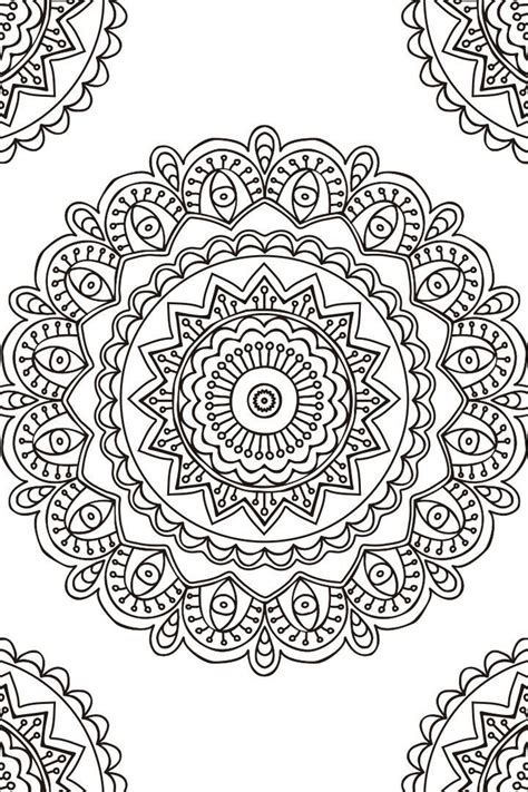 imagenes de mandalas bordados las 25 mejores ideas sobre mandala para imprimir en