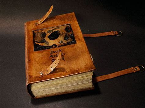 Handmade Leather Books - custom leather books handmade