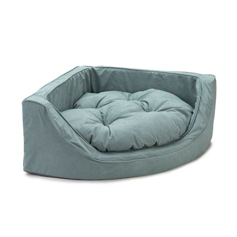 snoozer dog beds snoozer luxury overstuffed corner dog bed 28 colors