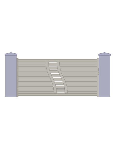 panneau cloture 1522 portail contemporain design uu56 montrealeast