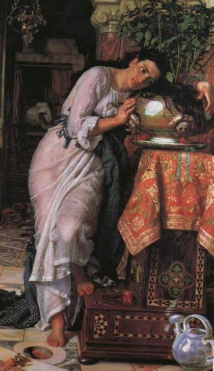 lisabetta e il vaso di basilico hunt william holman