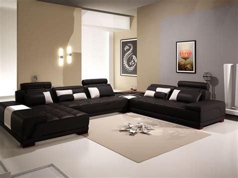 Black And Walnut Living Room Furniture Living Room Living Room Furniture Black