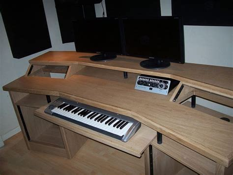 7 Best Diy Recording Studio Furniture Images On Pinterest Custom Studio Desk