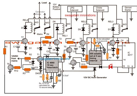 generator ats wiring diagram wiring diagram schemes