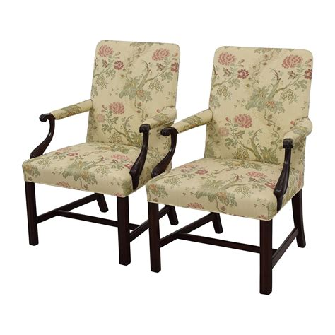 accent arm chair set 90 traditional upholstered arm chair set of two
