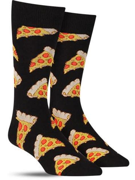 pizza pattern socks pizza awesome food socks for men