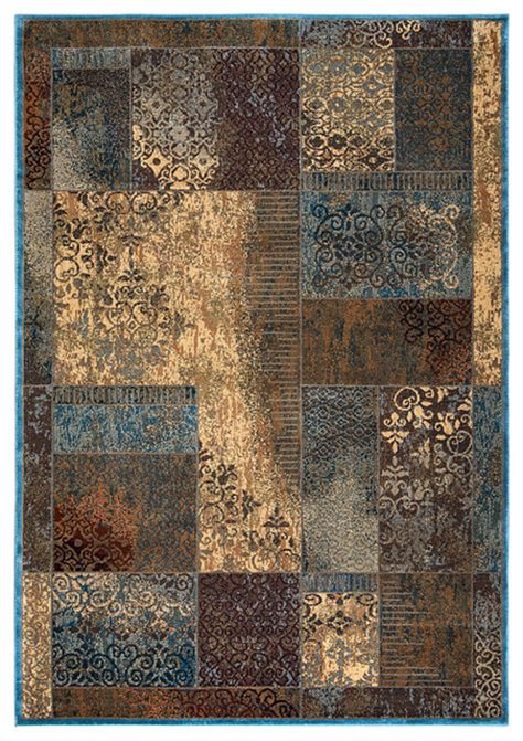 rugs for rustic decor rizzy bellevue bv 3196 blue area rug rustic area rugs by buyarearugs