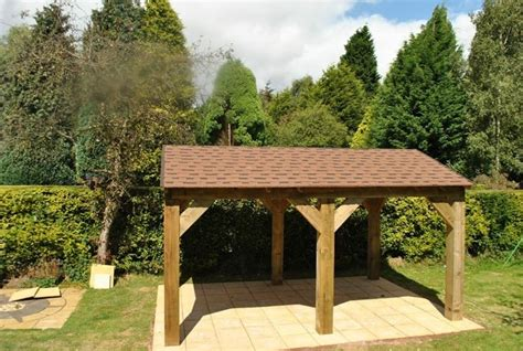 come costruire tettoia in legno tettoia in legno fai da te arredo giardino realizzare