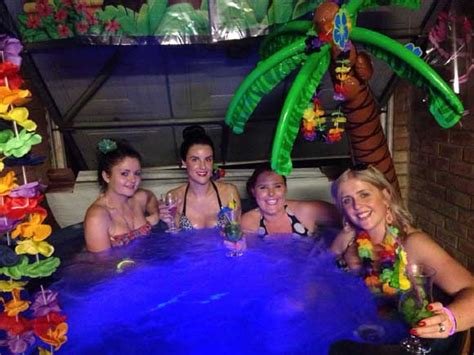 themes for hot tub parties hot tub hire buy a hot tub manchester bury bolton