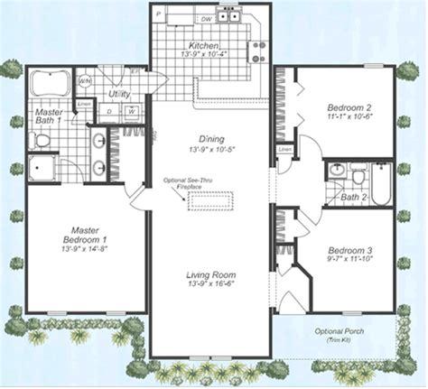 modular home open floor plans hickory fuller modular homes