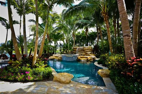 poolside landscaping 25 spectacular tropical pool landscaping ideas