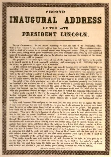 abraham lincoln inaugural address pin by robinson on abraham lincoln
