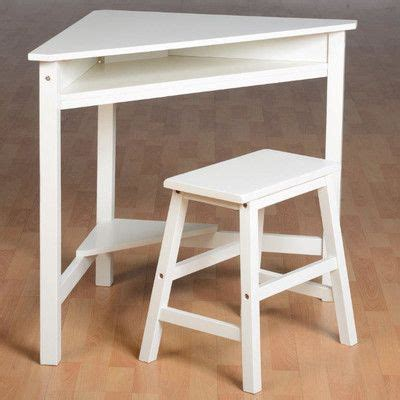 Corner Desk And Stool by Home Essence Corner Desk Set Wayfair Uk White