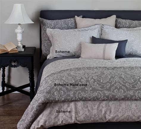 Gray Pattern Comforter by Grey Floral Pattern Bedding St Geneve Boheme Grey