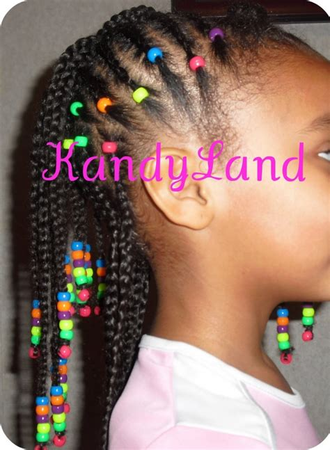 girl hairstyles with beads little girls braid styles with beads google search