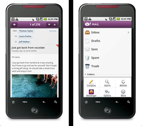 yahoo android app yahoo releases android apps
