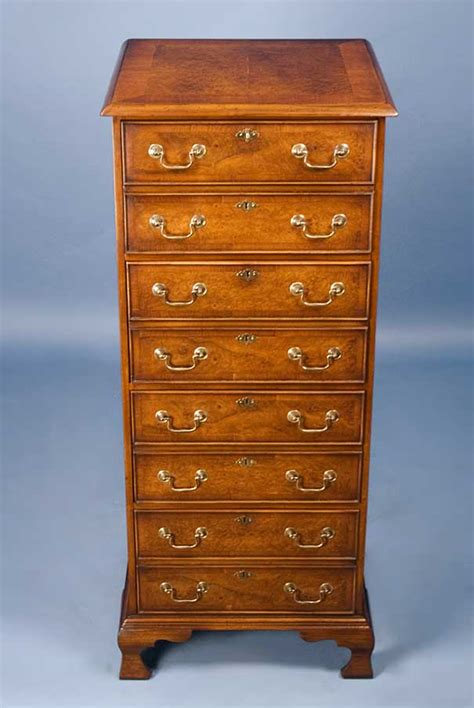 vintage file cabinets for sale antique style vertical four drawer walnut file