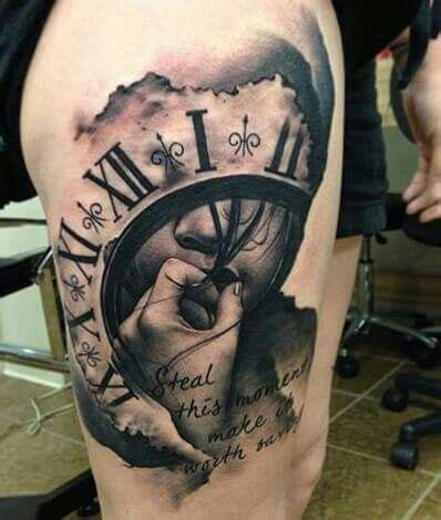 about time tattoo 25 best ideas about clock tattoos on time