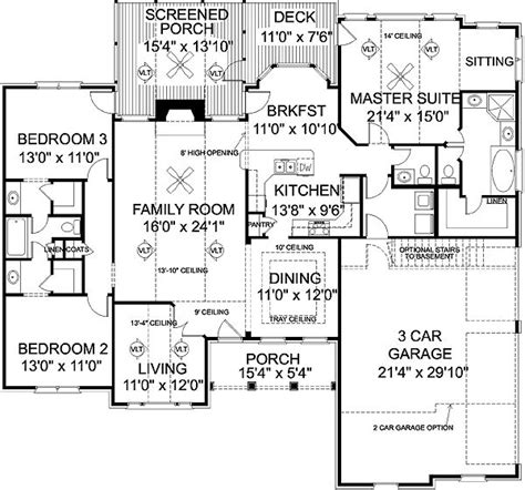 1900 sq foot ranch house plans 1000 images about floor plans on pinterest house plans