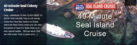Cruise Seal The Deal With A 3 Minute by Boat Cruises Real Deal