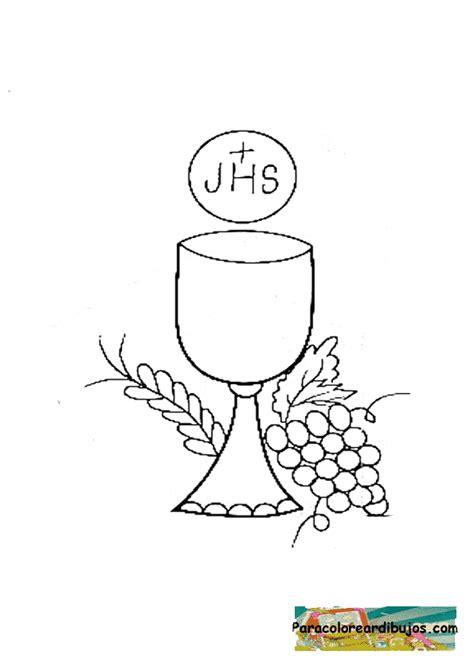 imagenes de pan y uvas para colorear caliz dibujos para colorear imagui