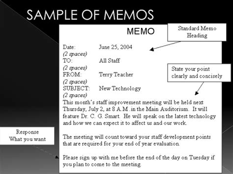 Business Letters And Memos Ppt letters memos presentation