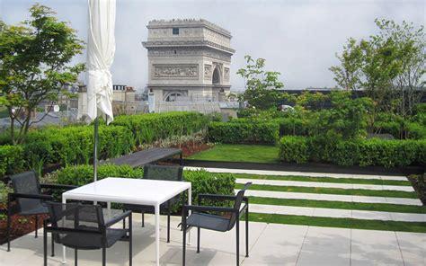 Jardin Patio by Jardin En Terrasse