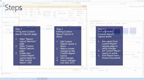 word layout nav 2015 customize word layout in microsoft dynamics nav 2015