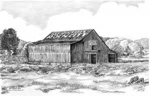 the barn line pencil drawings of barns drawing pencil