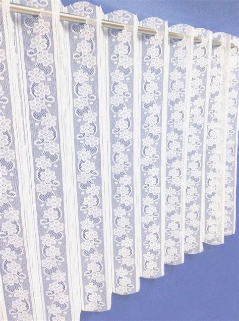 72 width curtains vertical blind pleated white lace voile net 72 quot width