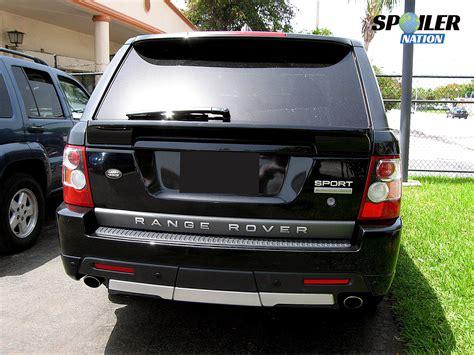 range rover rear 2010 2012 range rover sport tuner rear mid hatch spoiler