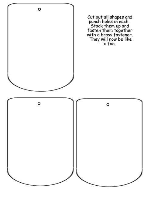 lapbook template interactive notebook pinterest