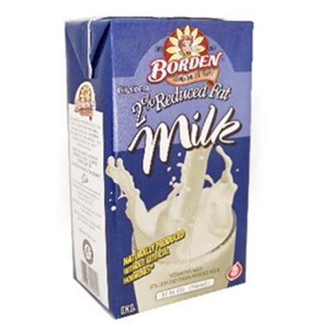 Borden Shelf Stable Milk by Borden Shelf Stable 2 White Milk 32oz 6