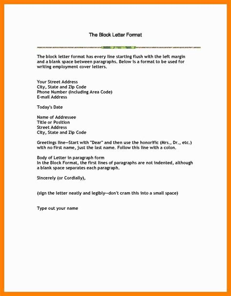 how to write letter of resignation resignation letter format margins inspirationa writing 1323