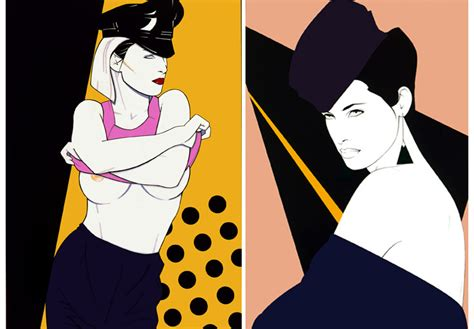 80s Sketches by Nagel 80s Fashion Illustrations