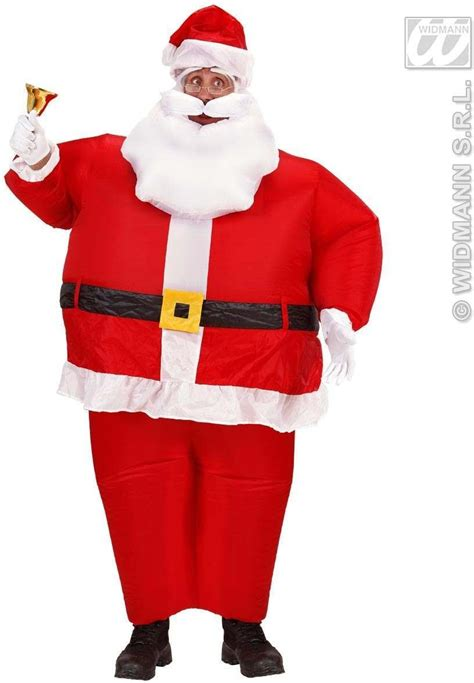 printable santa outfit buy inflatable santa claus costume fancy dress christmas