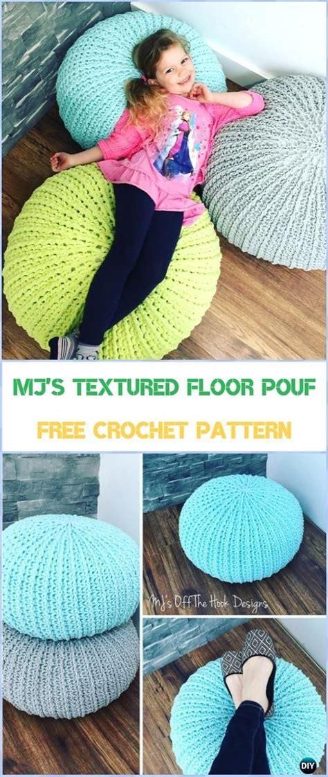crochet pouf ottoman pattern free best 25 patterns ideas on cool wallpapers