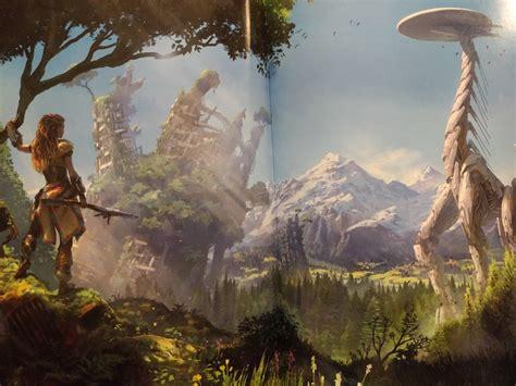 retrofuturistic fangasm the art of horizon zero dawn review gaming trend