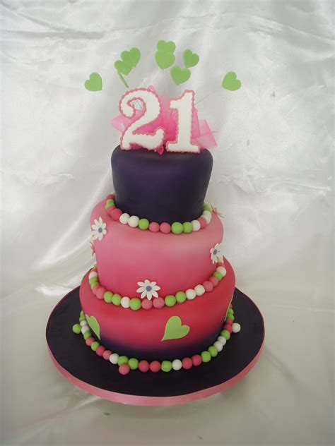 Best 21st Birthday Cakes Pictures