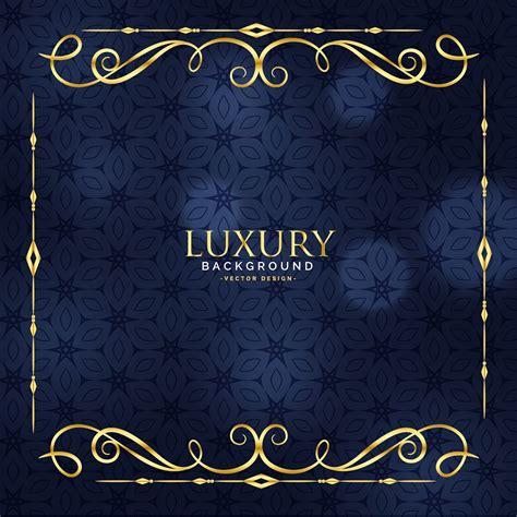 luxury invitation floral premium background