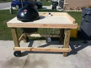 Michael bard char griller akorn cooker custom offset reverse smoker