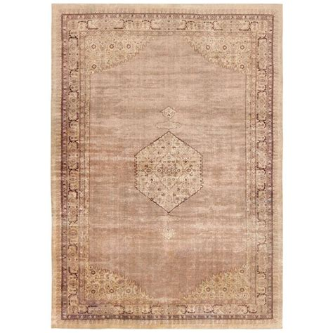 beautiful antique shabby chic agra rug for sale at 1stdibs